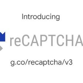 Google recaptcha badge